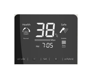Panasonic digital electric shower เครื่องทำน้ำอุ่นระบบดิจิตอล 6000 วัตต์ รุ่น DH-6ND1TS