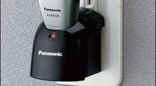Panasonic เครื่องโกนหนวดแบบชาร์จไฟ Men's shaver (Rechargeable) รุ่น ES-RW30