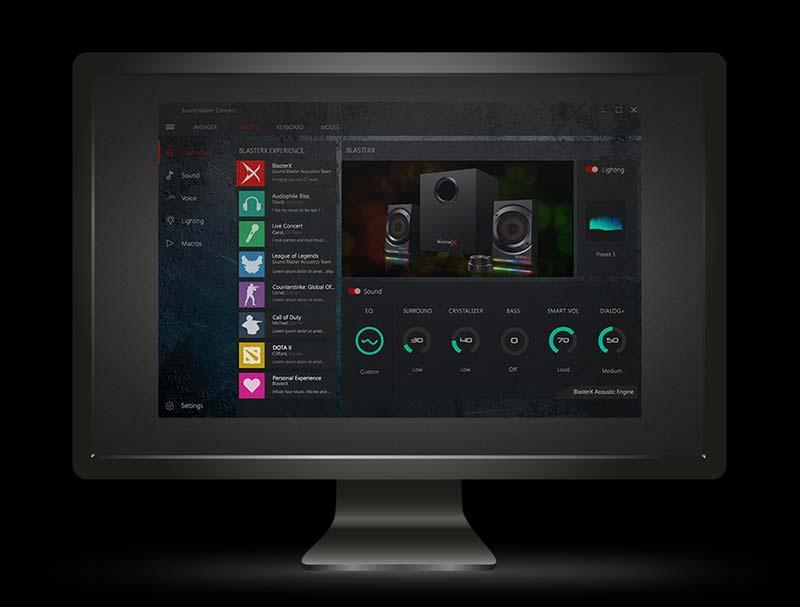 Creative Sound BlasterX 2.1 Channel Gaming Speaker