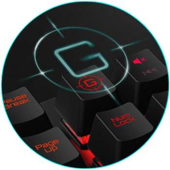 ThunderX3 AK7 HEX Gaming Keyboard คีย์บอร์ดเกมเมอร์