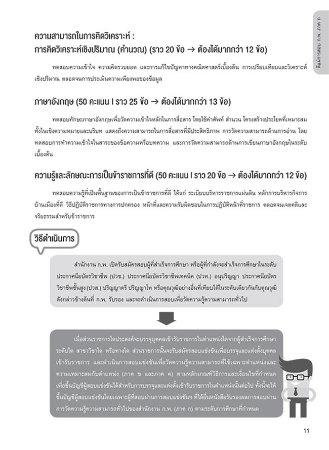 เจาะลึกแนวข้อสอบ ก.พ. ภาค ก ฉบับสมบูรณ์ 03