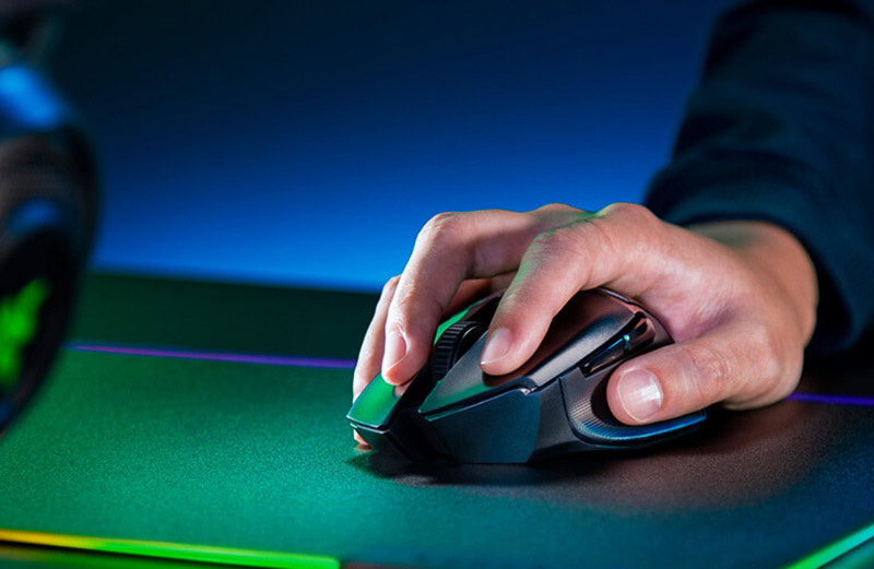 Razer เม้าส์เกมไร้สาย Basilisk X Hyperspeed