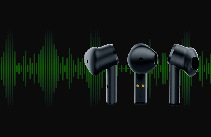 Razer หูฟังเกม Hammerhead True Wireless