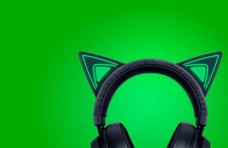 Razer หูฟังเกม Kraken Kitty