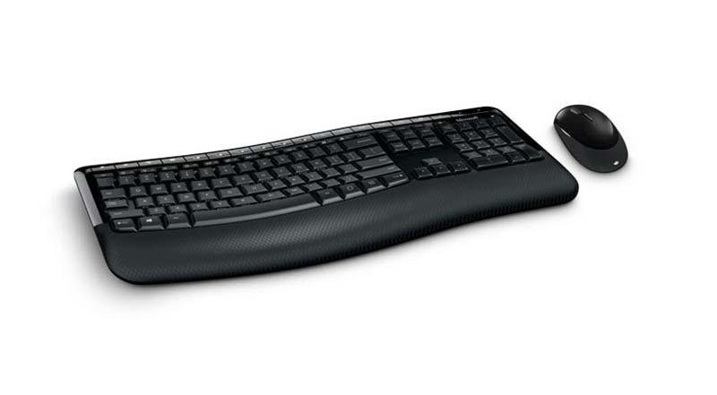 Microsoft ชุดเม้าส์ คีย์บอร์ดไร้สาย Comfort Desktop 5050 Eng only