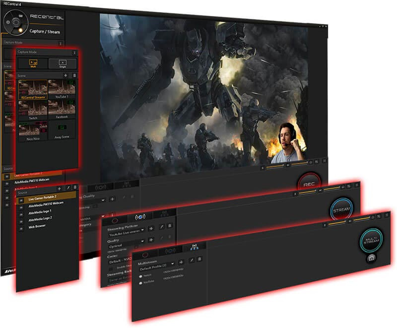 AVerMedia GC551 แคปเจอร์การ์ด Live Gamer ExTREME 2 (LGx2)