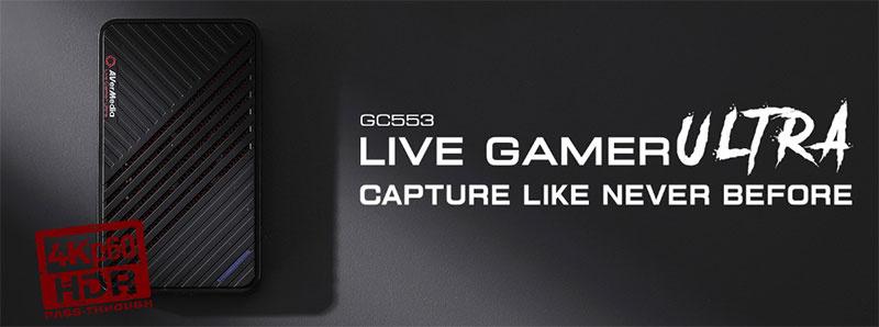 AVerMedia GC553 แคปเจอร์การ์ด Live Gamer Ultra