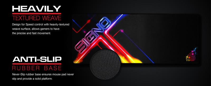SIGNO E-Sport แผ่นรองเม้าส์เกม MT-326