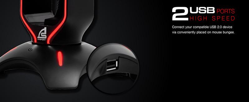 SIGNO E-Sport อุปกรณ์จัดสายเม้าส์ BG-703