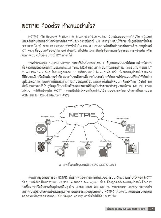 พัฒนา IoT ผ่าน Cloud ด้วย Arduino 07