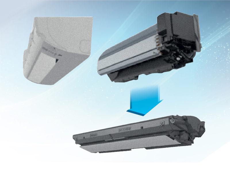 DAIKIN เครื่องปรับอากาศ Sabai Plus Inverter รุ่น FTKQ24UV2S