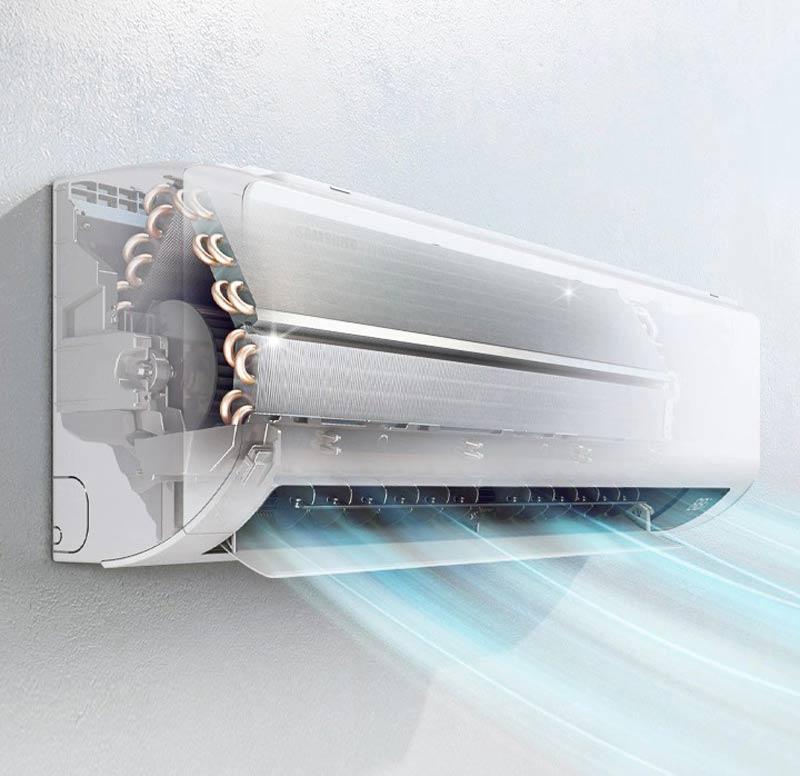 SAMSUNG เครื่องปรับอากาศ Inverter รุ่น AR24TYHZ