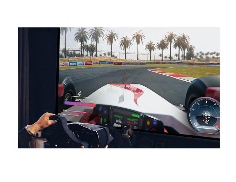 LG 4K Smart TV UHD LG ThinQ AI (2020) 55 นิ้ว รุ่น 55UN7300 + Magic Remote (MR20)