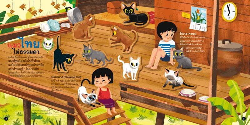 หนังสือสติ๊กเกอร์ ความลับของแมว 01