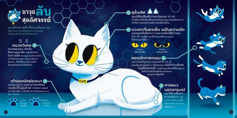 หนังสือสติ๊กเกอร์ ความลับของแมว 02