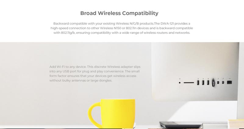 D-Link DWA-121 N150 Wireless Pico USB Adapter07