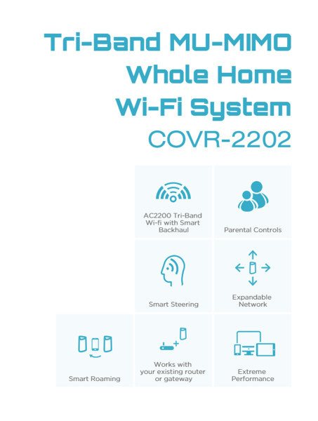 D-Link COVR-2202 Tri-Band Whole Home Wi-Fi System02