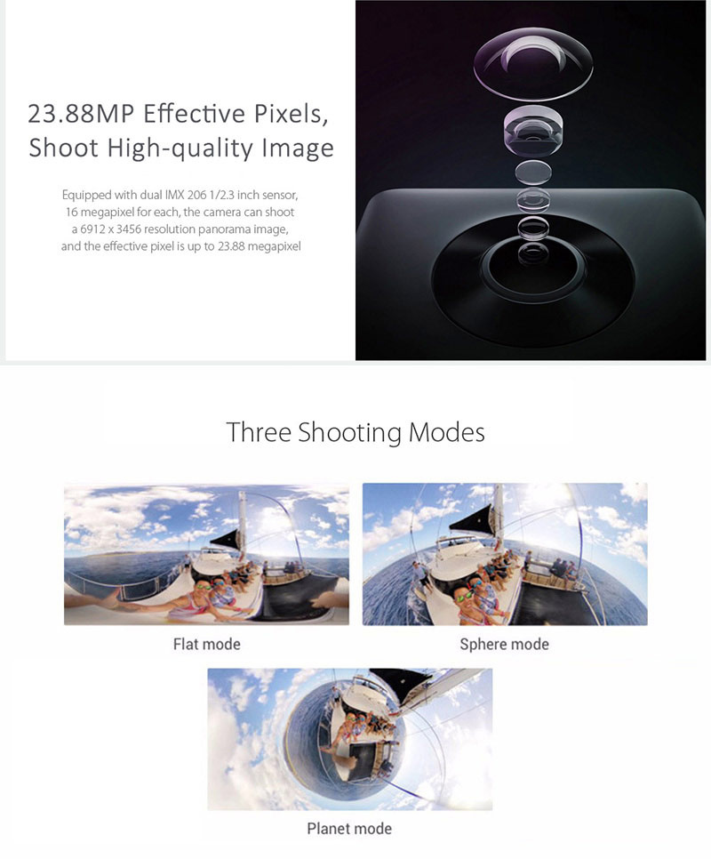 xiaomi mi action camera sphere kit