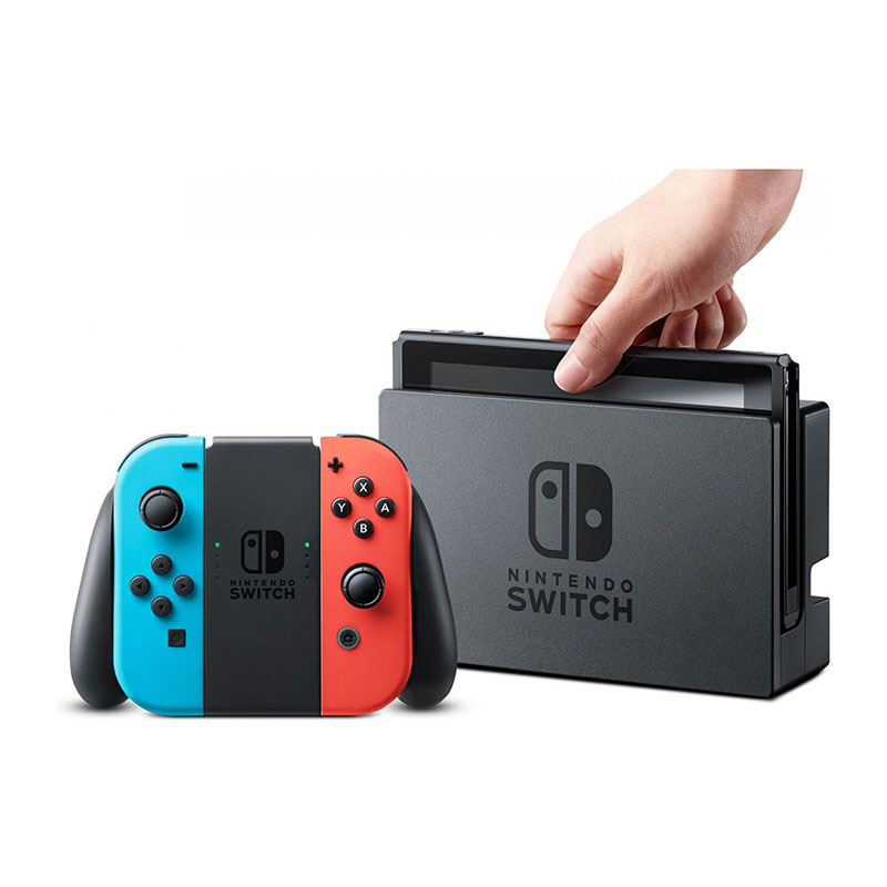 Nintendo Switch (Neon Blue / Neon Red) (HK) 03