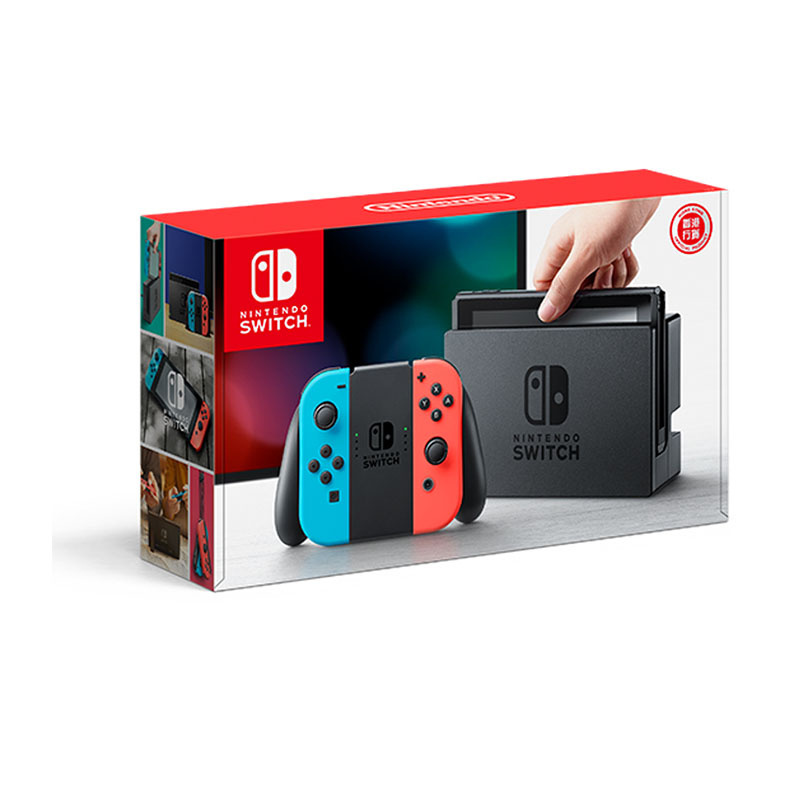 Nintendo Switch (Neon Blue / Neon Red) (HK) 04