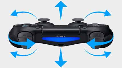 Playstation 4 Dualshock 4 Wireless Controller MC 07