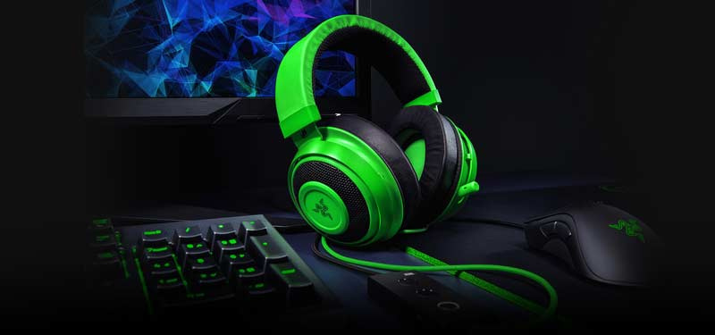 Razer Gaming Headset Kraken Black Tournament