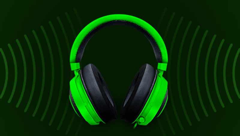 Razer Gaming Headset Kraken Black Tournament 04