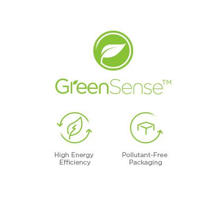 เทคโนโลยี GreenSense™เพื่อโลกสีเขียว